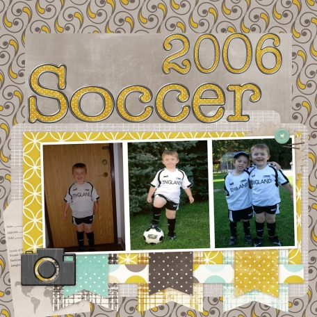 On the Soccer team