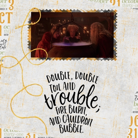 Double, Bubble, Toil and Trouble