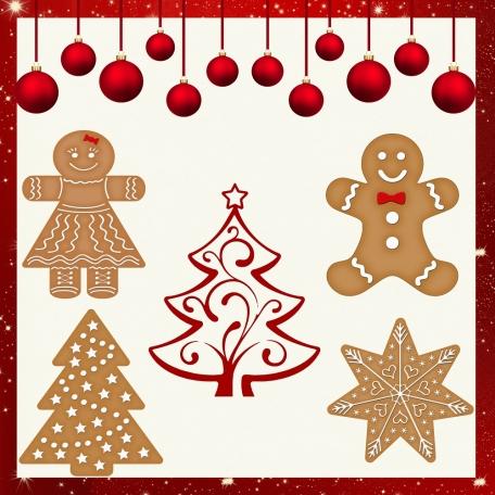 Very Merry Gingerbread Xmas
