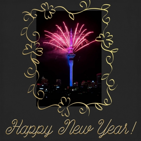 Happy New Year in New Zealand  for 2020