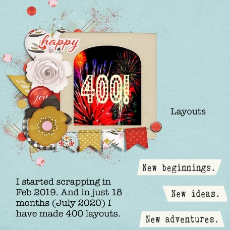 Celebrating 400 layouts!!