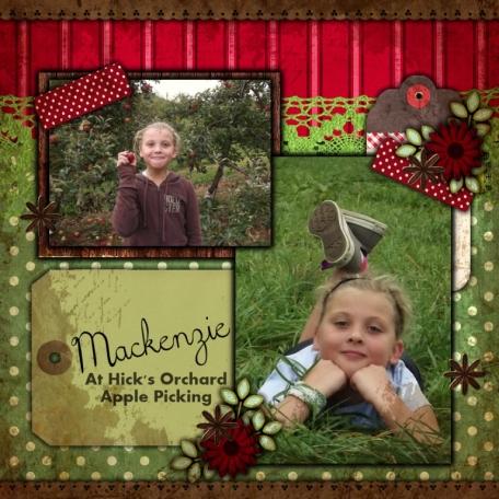 Apple Picking - Mackenzie