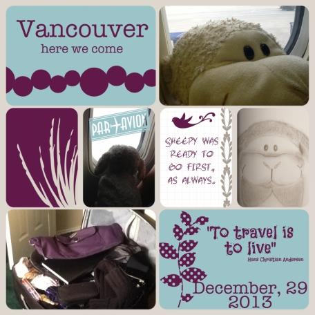 Vancouver Adventure Starts now 2014
