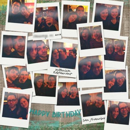 Birthday Polaroids