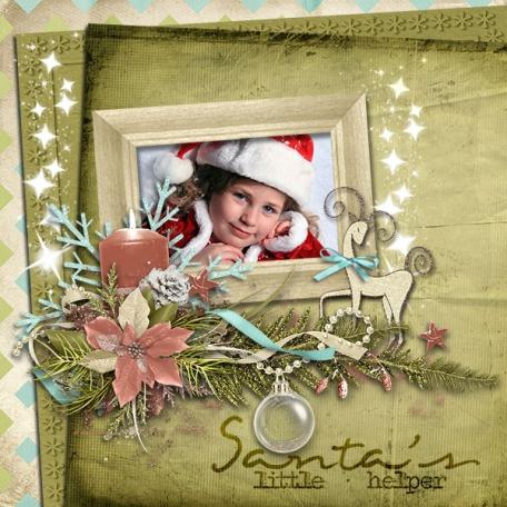 Santa's helper gilr