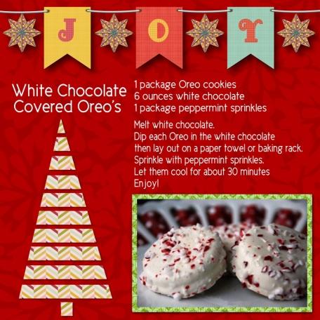 White Chocolate Oreo's