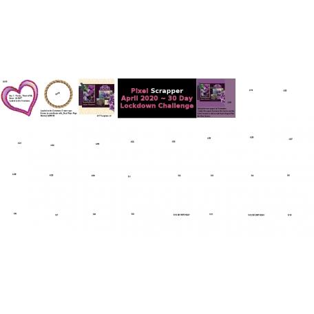 30 Day Progress Board