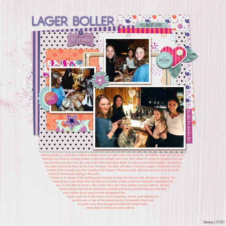 Lager Boller (Making sweet buns)