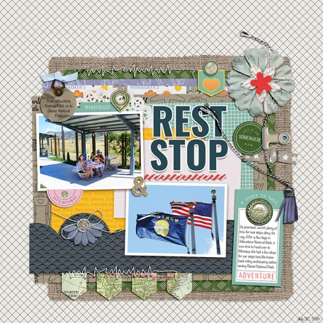Rest Stop to Montana - AL