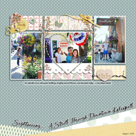Sightseeing...A Stroll Through Downtown Kalispell
