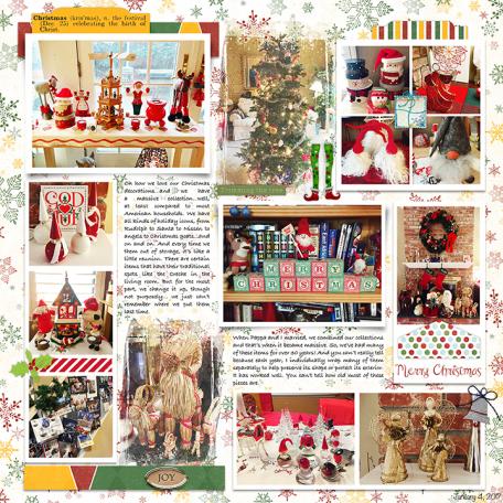 Merry Christmas Decor - AL