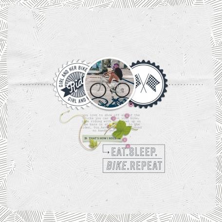 Eat. Sleep. Bike. Repeat.
