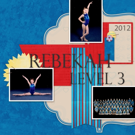 My gymnast Bekah