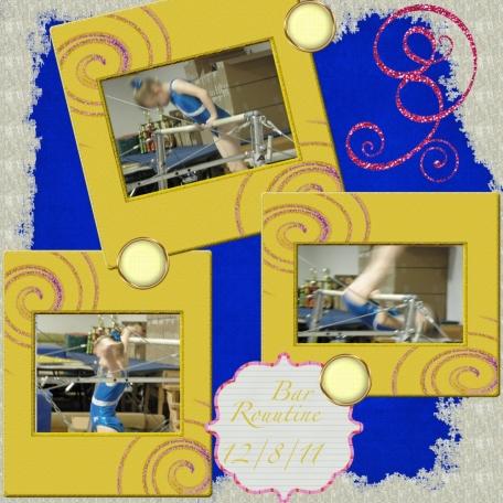 Gymnastic layout 2