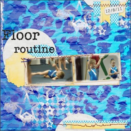 Gymnastics layout 3