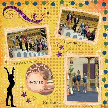 Hawaiian theme meet 4.5.12