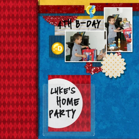 Luke's 4th birthday pt 4