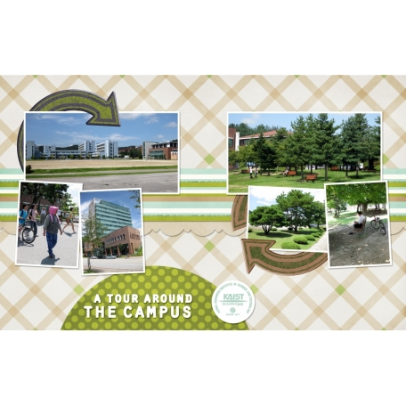 A tour around the campus