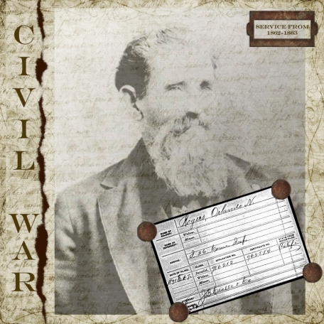 Civil War Great Great Great Grandpa