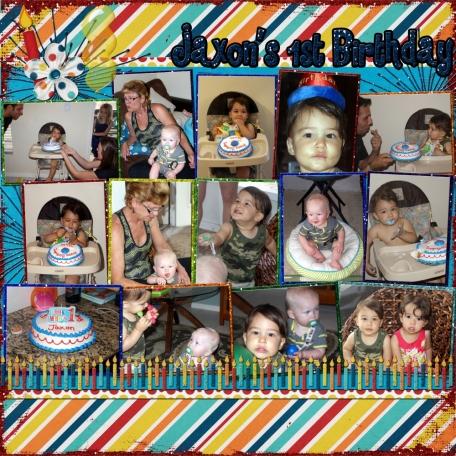 Jaxon's Birthday