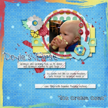 Doyle's first ice cream cone