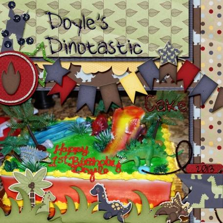 Doyles Dinotastic Cake