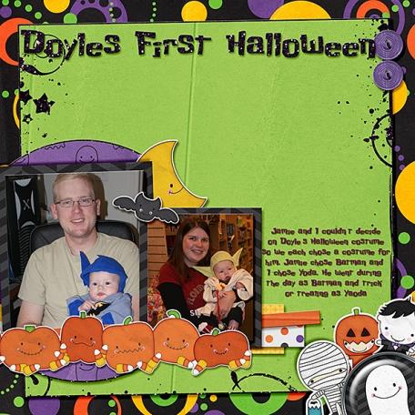 Doyle's first halloween