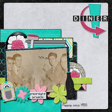 Diner 1950's