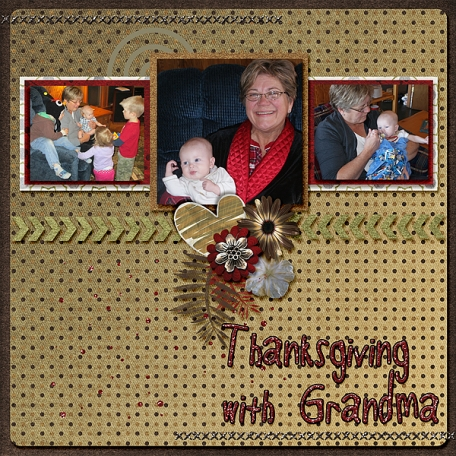 Thanksgiving with Grandma