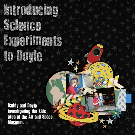 Introducing Science Experiements to Doyle