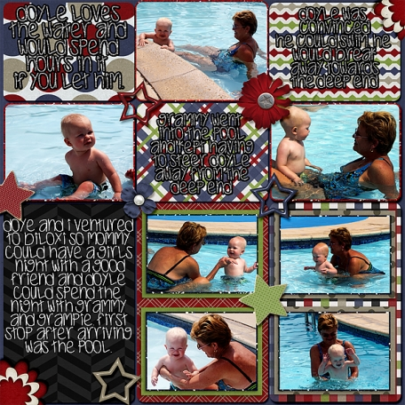 Swiming With Grammy Side 2