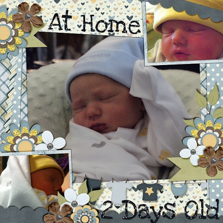 At Home Two Days Old