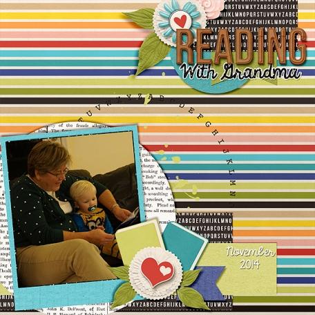 Reading with Grandma