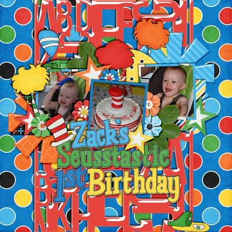 Zack's 1st Birthday