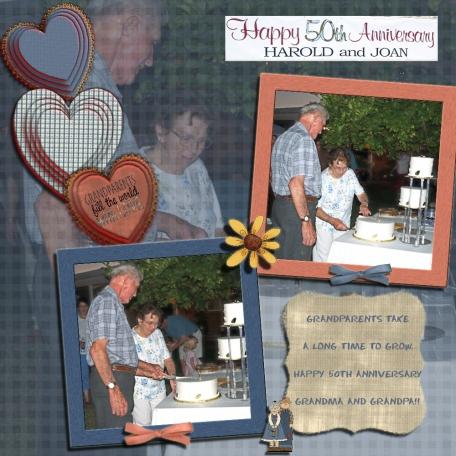 Grandma and Grandpa's 50th Anniversary