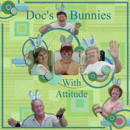 Doc's Bunnies with an Attitude