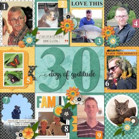 30 day of gratitude
