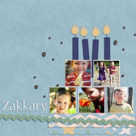 Zakkary's Birthday
