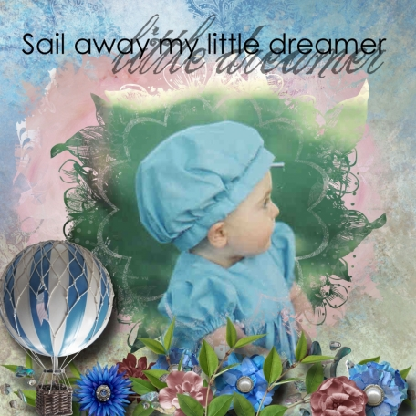 Sail away little Dreamer