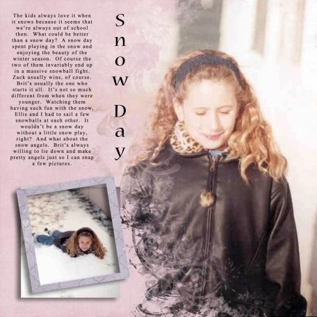 Snow Day 2001