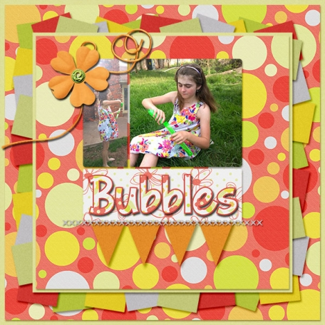 Blowing Bubbles 4