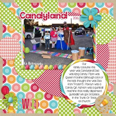 Family Album 2016: Candyland