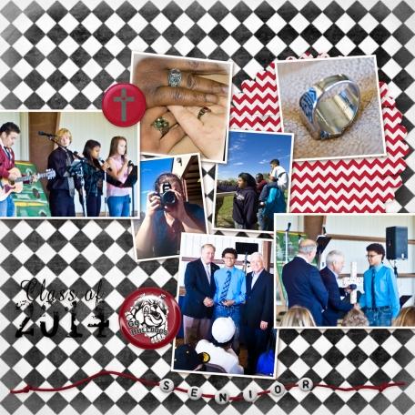 Tristan's 2014 Senior Album: Senior Ring Presentation 2/2