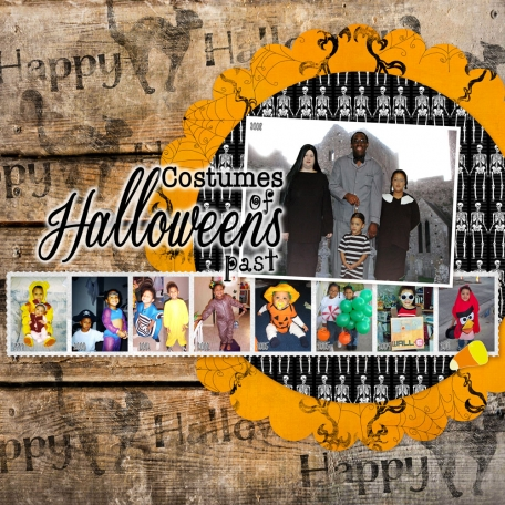 Costumes of Halloweens Past