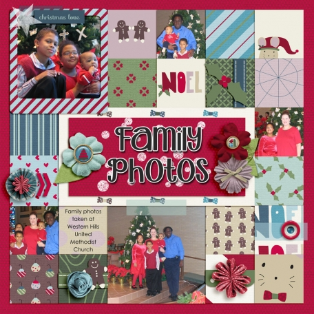 Family Album 2005: Christmas, Family Photos