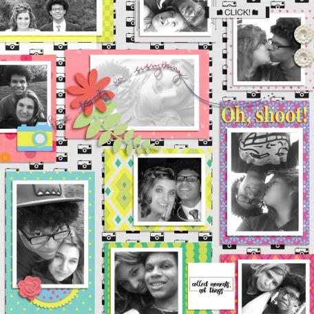 Tristan's 2014 Senior Album: Oh, Shoot!