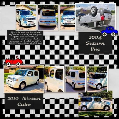 Family Album 2010: New Car (2010 Nissan Cube)