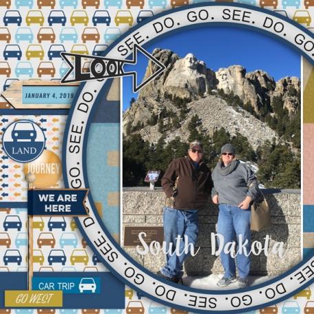 Around the World-South Dakota