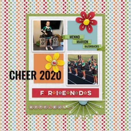 Cheer 2020 Razorbacks