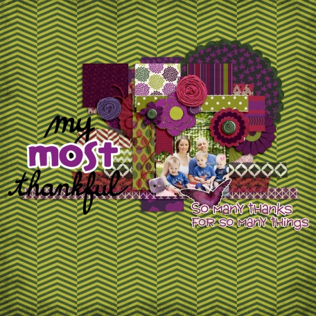 my most thankful